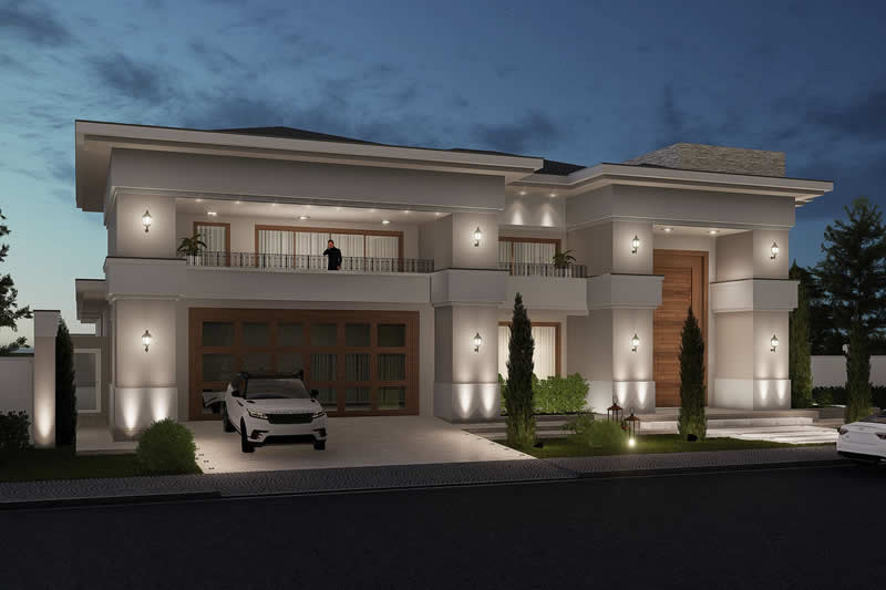 Neoclassical mansion project