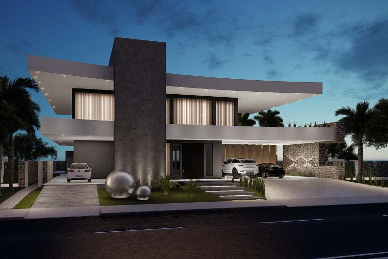 Contemporary mansion project