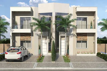 3 bedroom townhouse floor plan