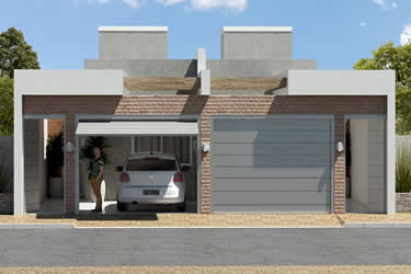 Floor plan with 3 bedrooms
