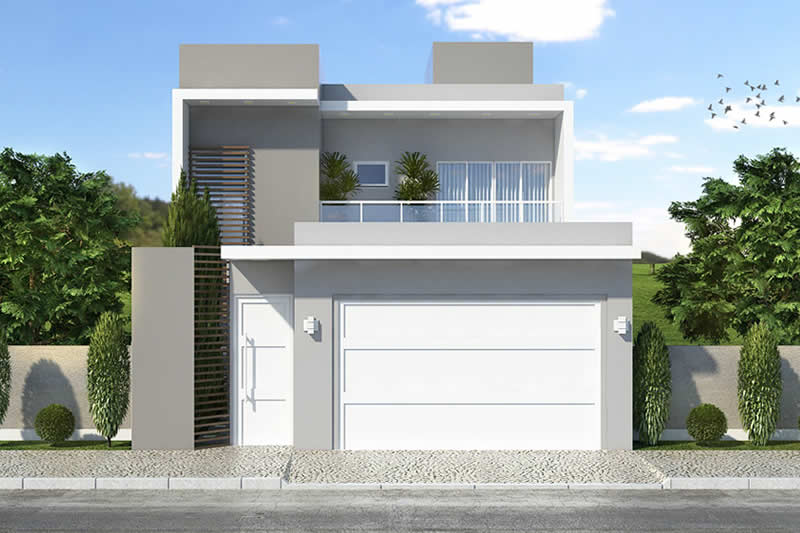 Floor plan with gourmet balcony
