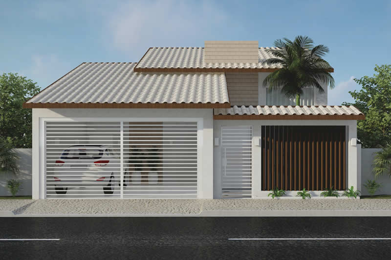 House plan with 2 bathrooms