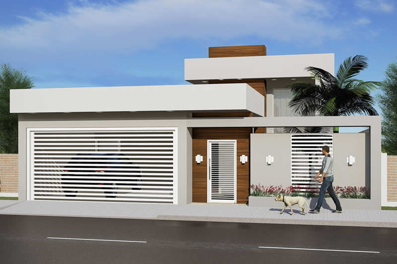 House plan with 3 bedrooms and pool