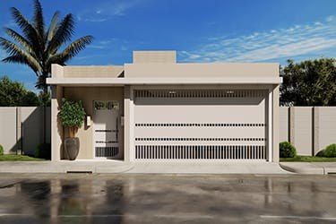 Ground floor house with 3 bedrooms