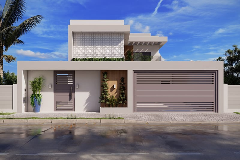 House with home office