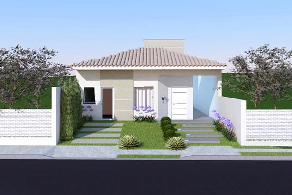 House plan with suite and closet
