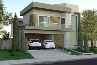 Sobrado project with gourmet area