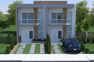 Single semi-detached townhouse