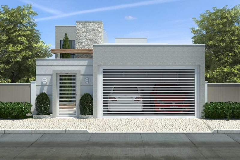 Small house with 3 bedrooms