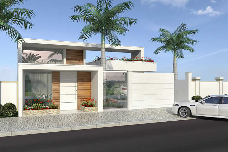 Single storey house with 3 suites
