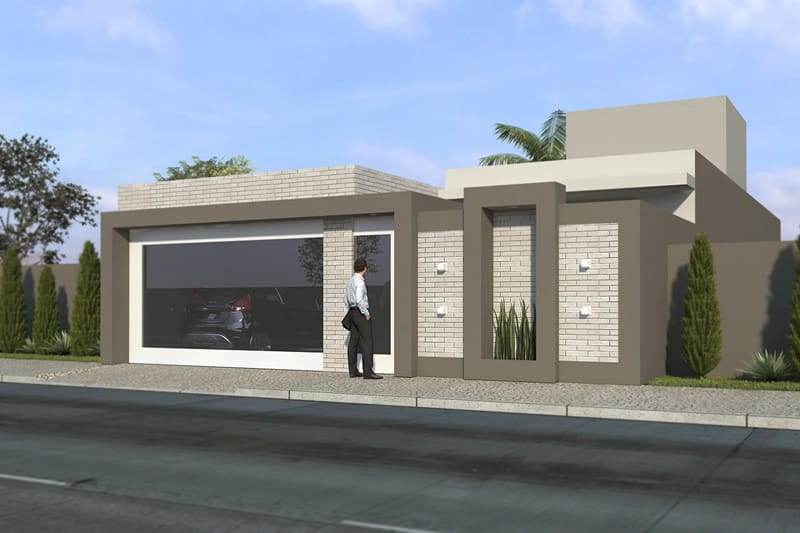 Single Storey House With 3 Suites Plans Of Houses