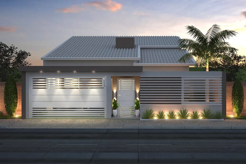 Ground floor house with swimming pool